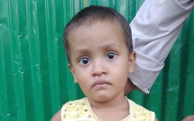 A child was found in Bhalukali camp 1, Boli Bazar