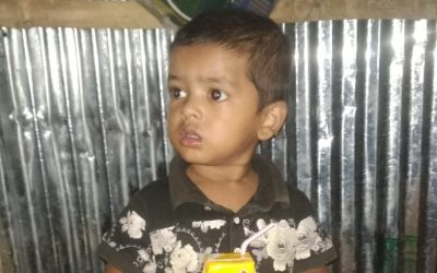 A child was found in Kutupalong camp 12