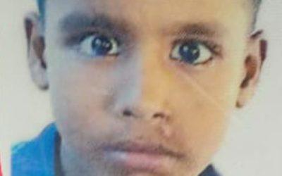 Yasin Arfat, age 9 missing