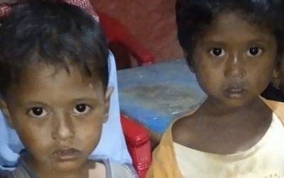 This two childs were found in Kutupalong camp 12,