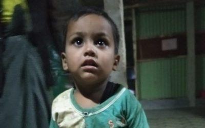A child was found in Balukhali camp