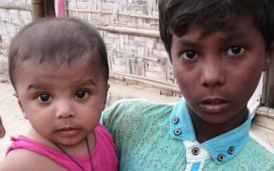 This kid was found in Jamtuli camp missing