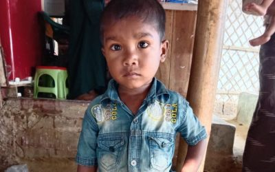 A child was found in Kutupalong camp missing