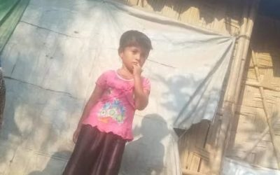 A young child was found in camp 17 missing