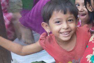 A young child was found in Kutupalong lambasiya camp missing