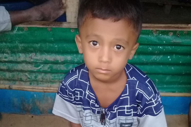 A young child was found in Kutupalong camp 6