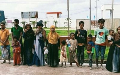 Fourteen Rohingya refugees fleeing Bhasan Char held at Mirsarai of Chittagong