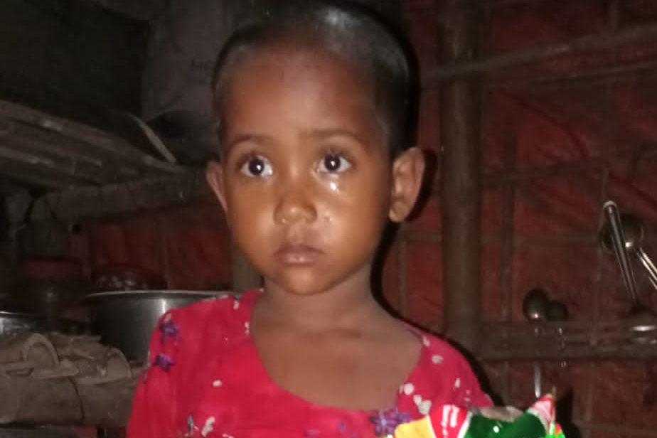 A child was found in Kutupalong camp 2 missing