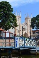 St.Xaviers church Melaka,Malaysia