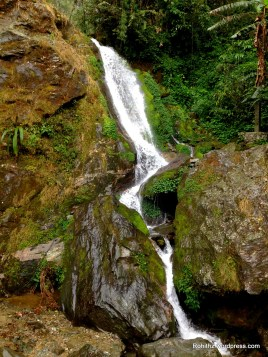 One of the 7sister waterfalls enroute to Lachen