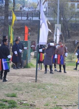 Bhutan archery (1)