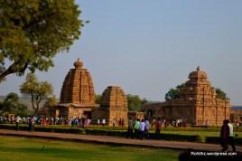 Kashivisveswara and Galaganatha temples & Sangameshwara temples Pattadakal.