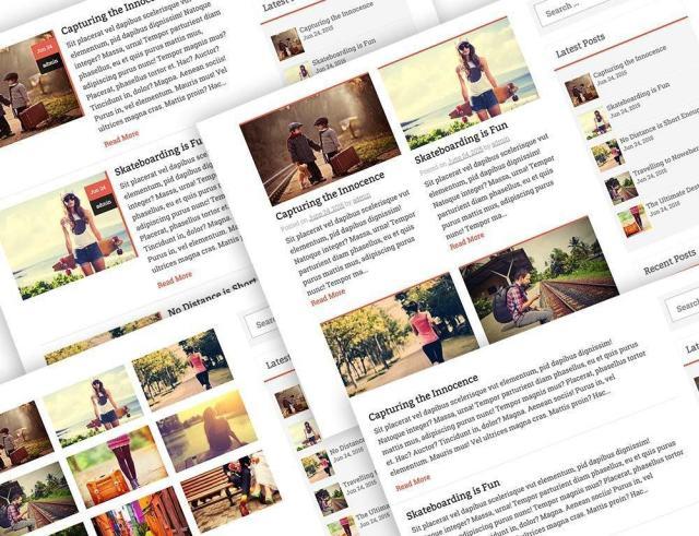 multiple blog layouts