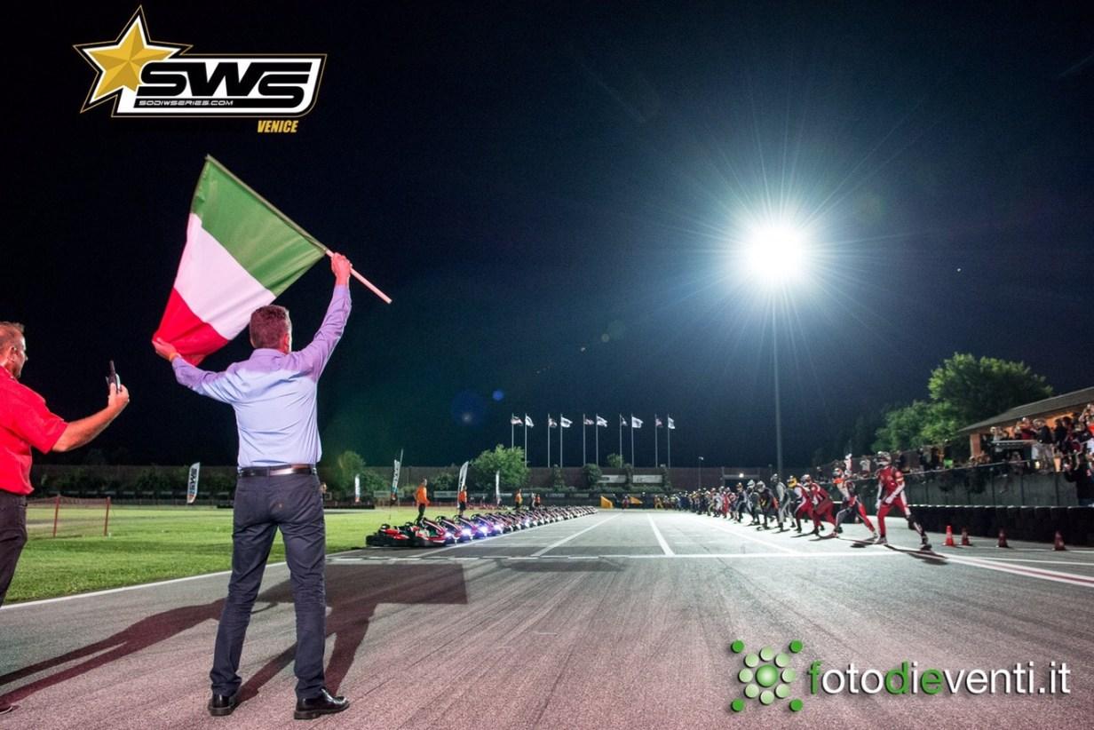 départ du mondial SWS 2018 en Italie