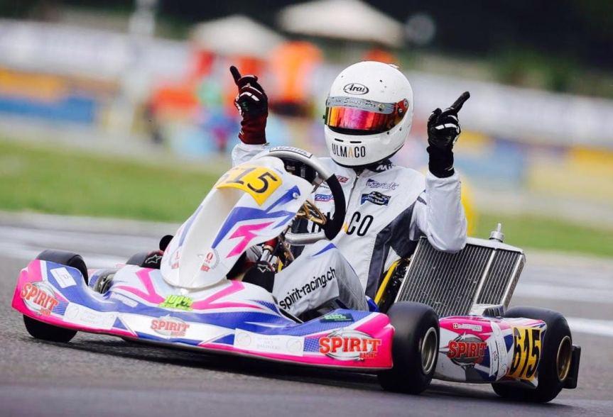 Nicolas Rohrbasser, coach de karting, termine 2ème au championnat du monde.