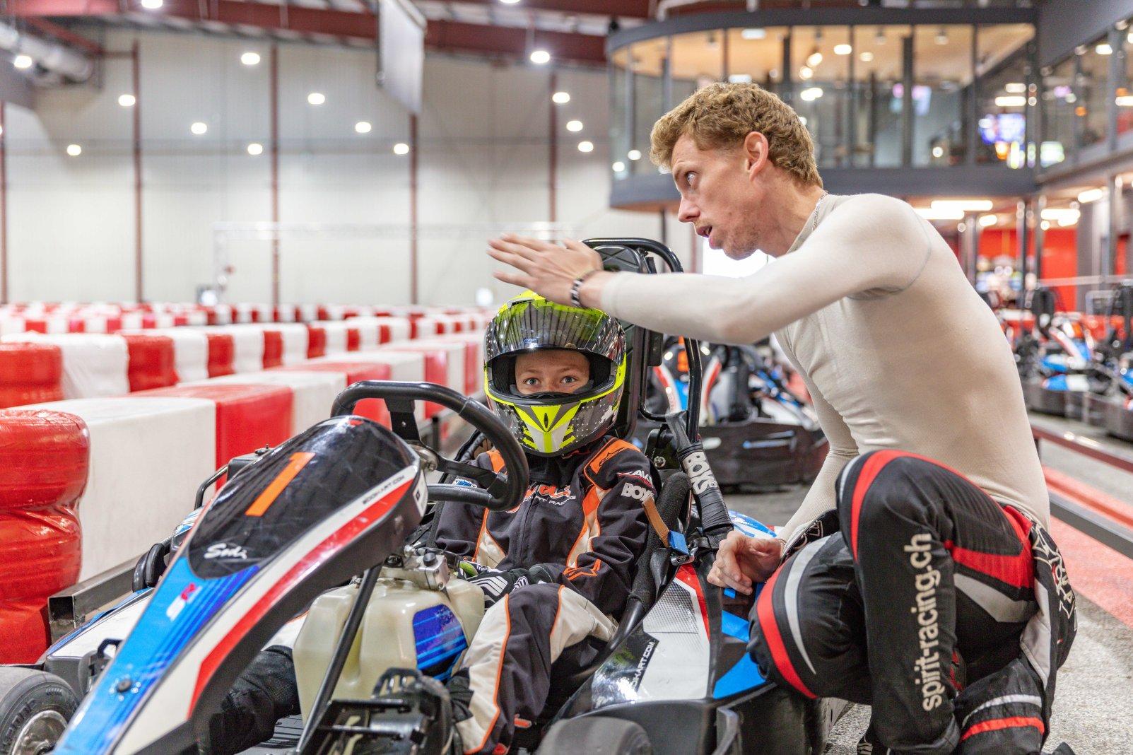 Cours de karting pour progresser avec la Rohrbasser Driving School