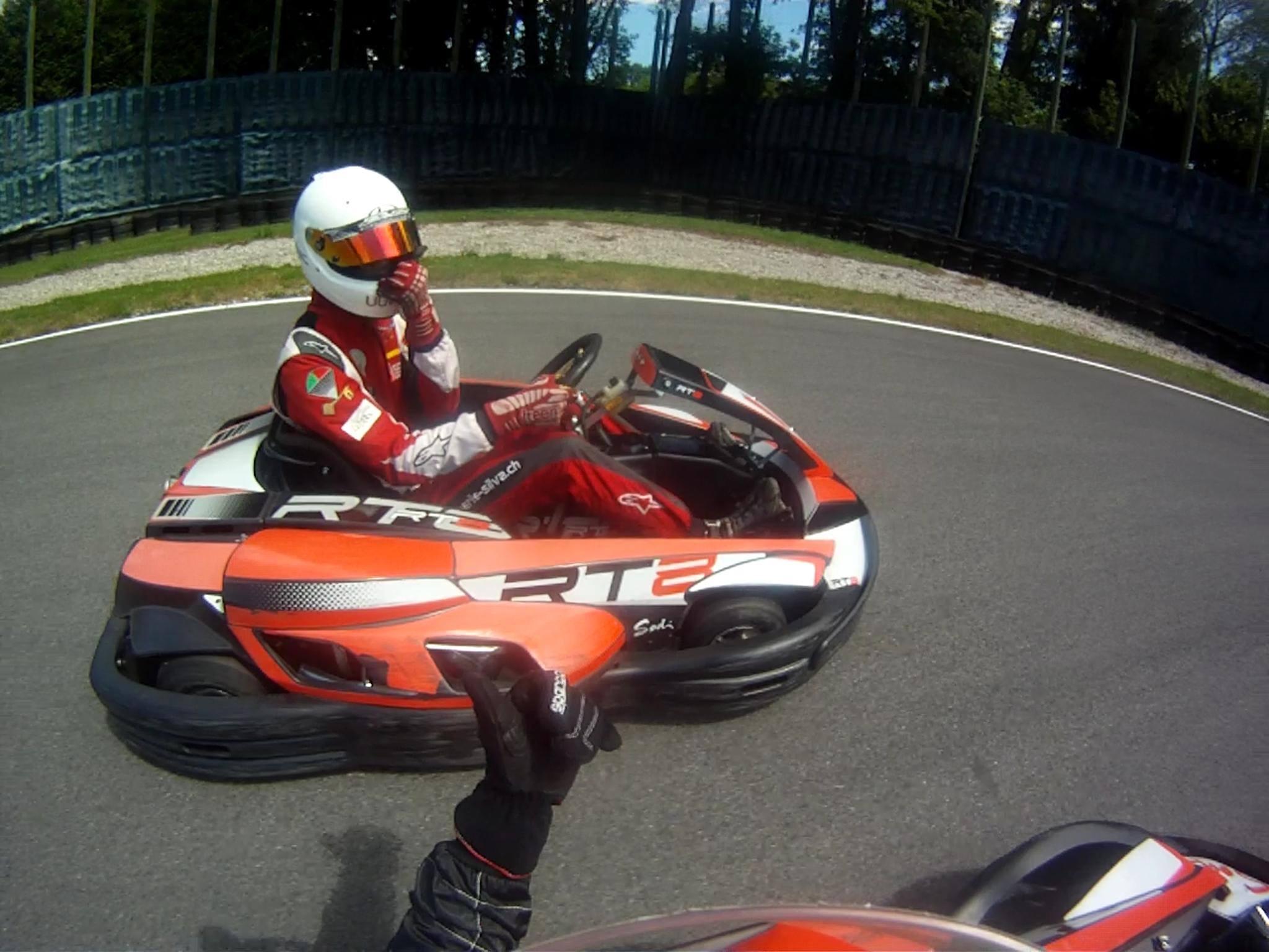 cours de karting en Suisse