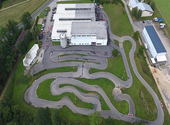 Circuit de karting de Vuiteboeuf, près d'Yverdon