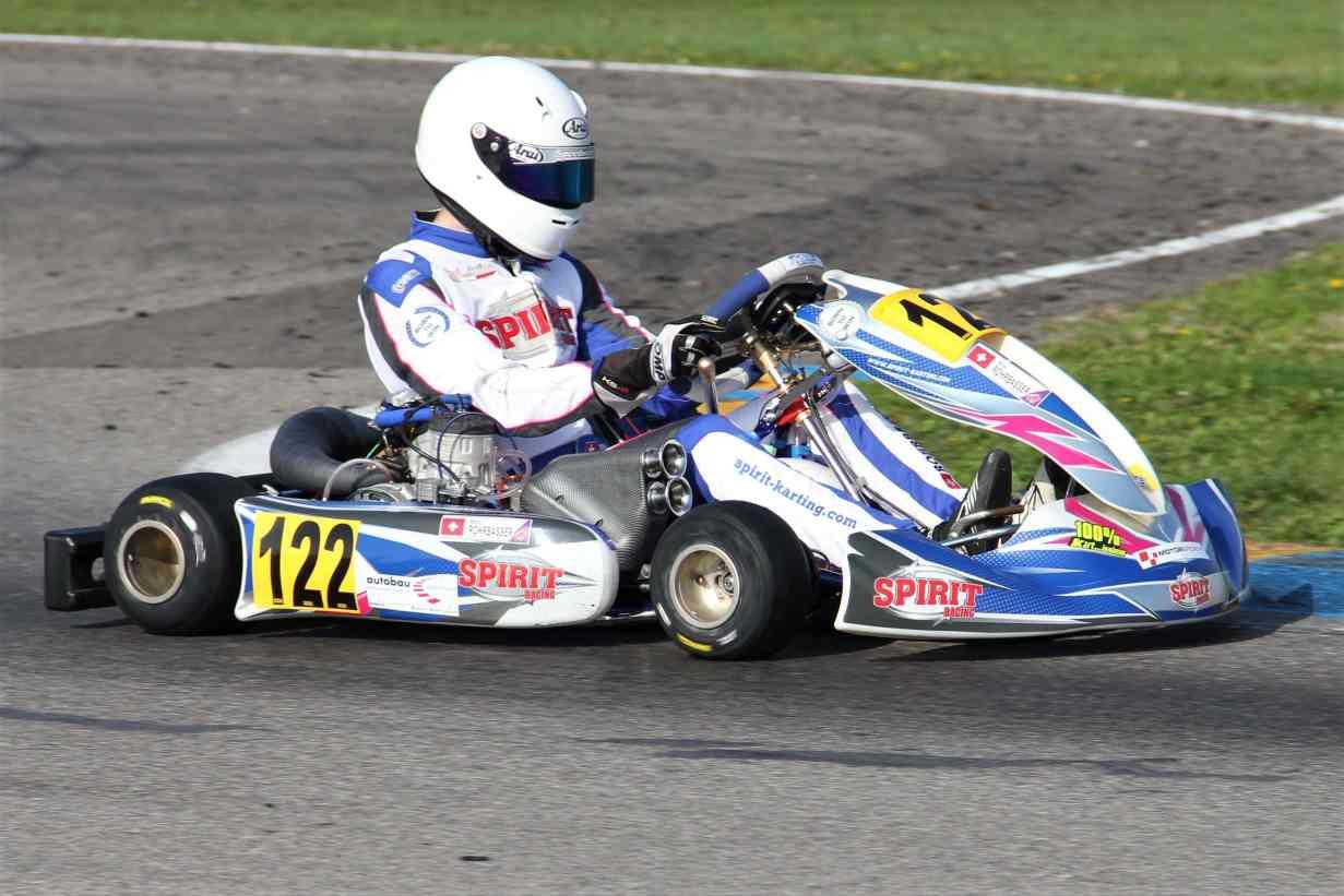 Championnat Suisse de Karting 2020 victoire de Nicolas Rohrbasser