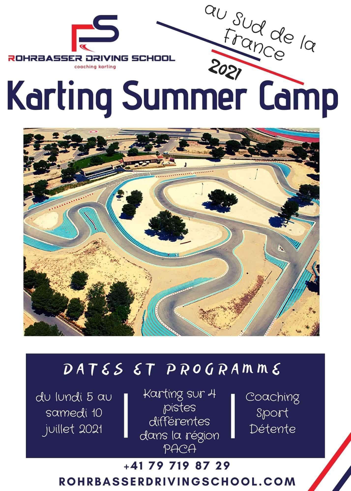 Camps de karting 2021