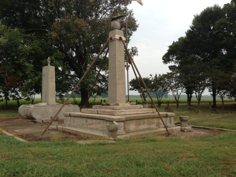 View during Preservation of the Rohwer Memorial Cemetery