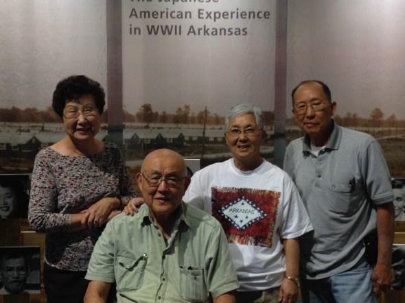 Left to right: Mrs. Tim Taira, Mr. Tim Taira, Mrs. Sharon Wong, Mr. Wong