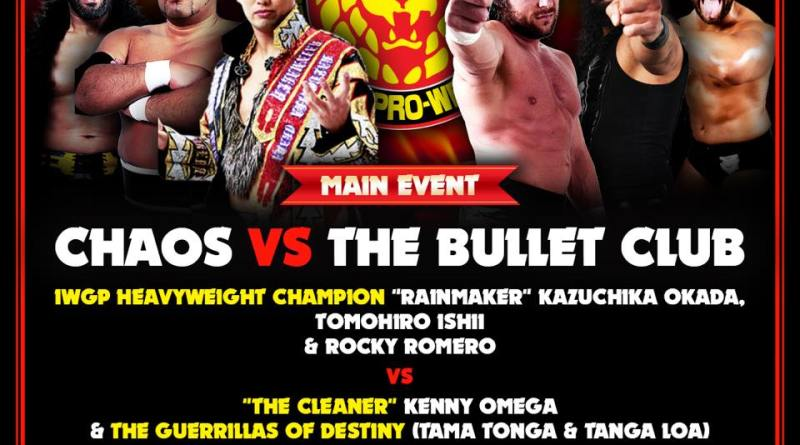 NJPW 02/17/18 Melbourne, AU Results