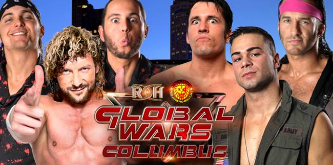 ROH Global Wars 2017 Columbus Review
