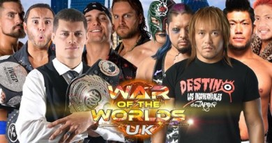 ROH 12/30/17 TV Review: War of the Worlds UK Tour Highlights