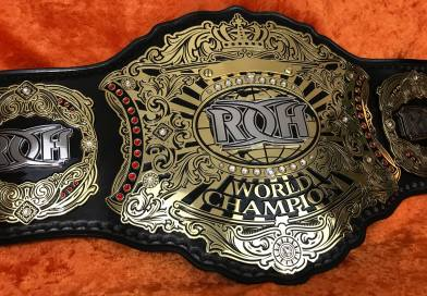 Pictures of the new ROH World Title