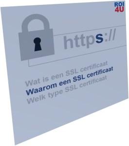 Waarom een SSL certificaat?
