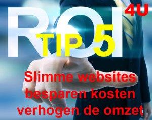 Slimme Websites TIP 5