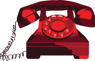 Rotary Phone Graphic