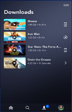 ScreenShot of Disney Plus