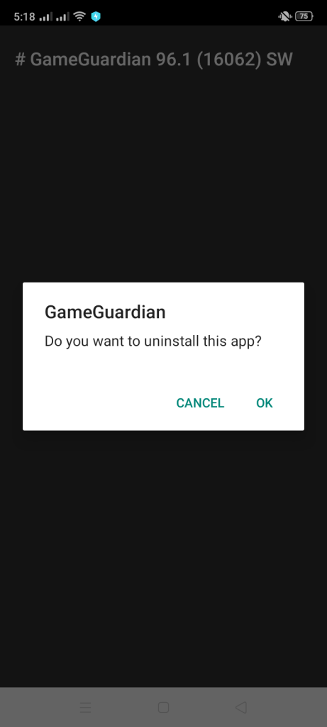 Screenshot of Game Guardian Apk
