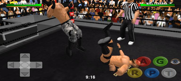 Screenshot of wr3d 2k20 Game