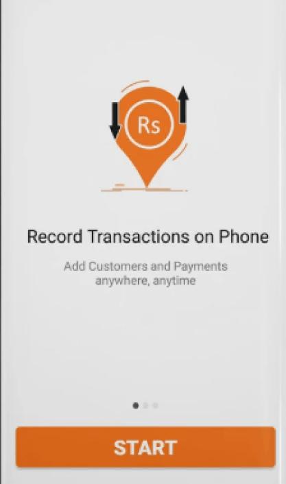 Screenshot of Goonj TV App