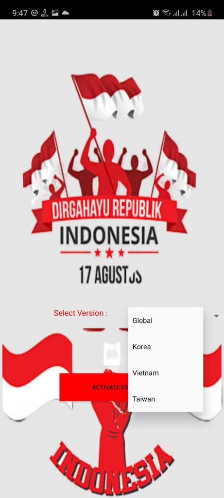 Screenshot of ESP DIRGAHAYU Root