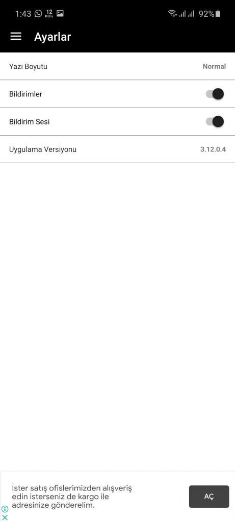 Screenshot of Sporun Tek Adresi Apk