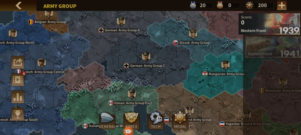 Screenshot of Glory Of Generals 3 For Android