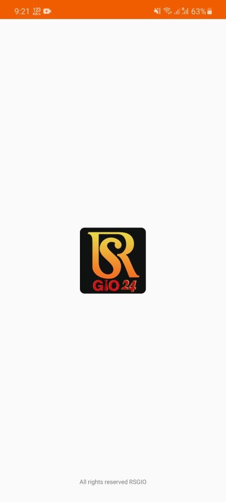 Screenshot of RSGIO24