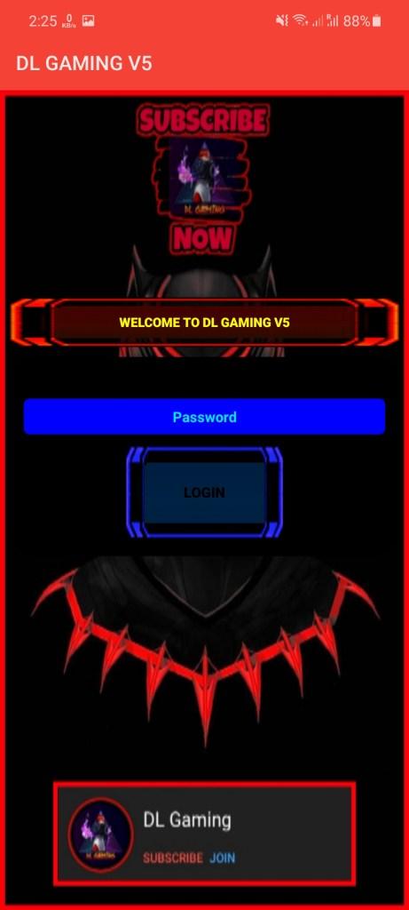Screenshot of DL Gaming Apk