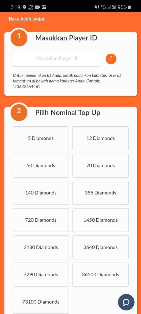 Screenshot of Diamond FF Gratis 10000 For Android
