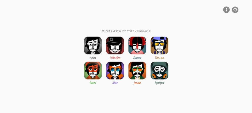Screenshot of Incredibox Game
