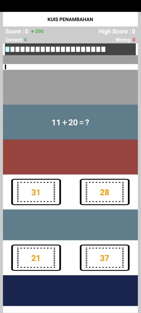Screenshot of MateMatika For Android