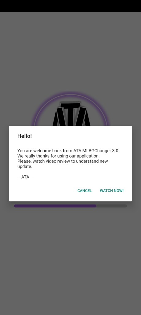 Screenshot of Ata MLBG Changer Apk