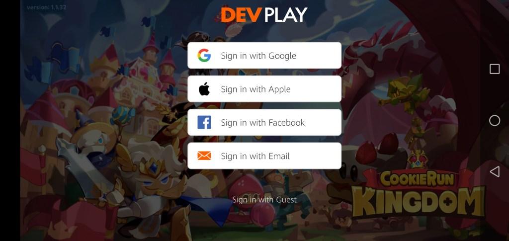 Screenshot of Cookie Run Kingdom App