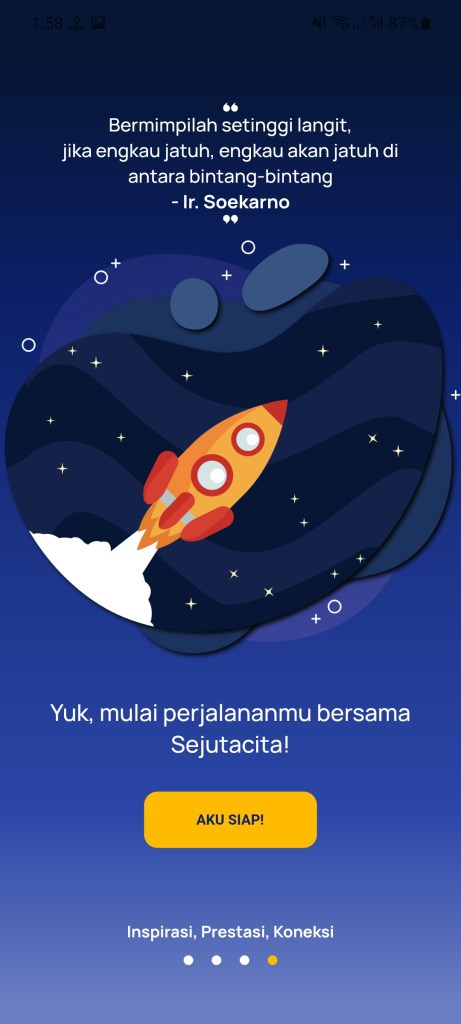 Screenshot of Sejuta Cita Apk