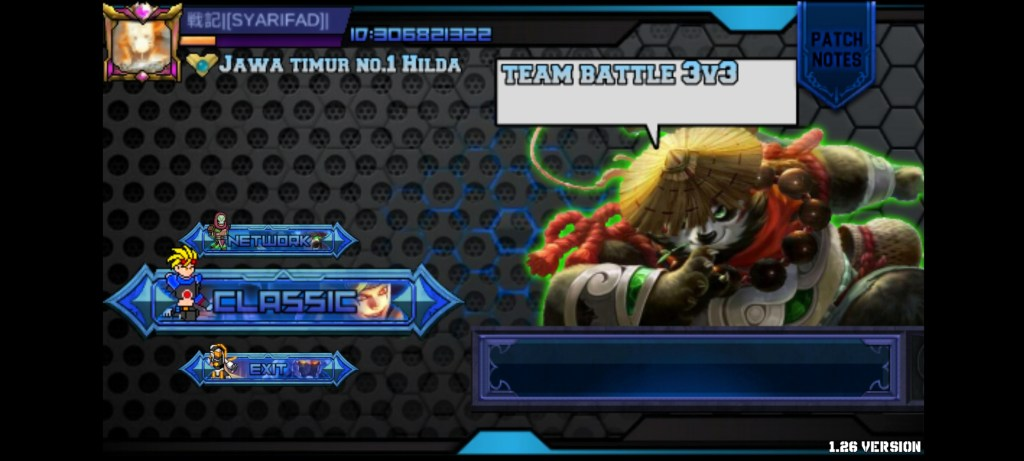 Screenshot of MOBA Mugen Apk