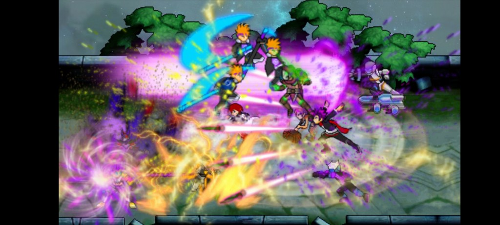 Screenshot of MOBA Mugen ML